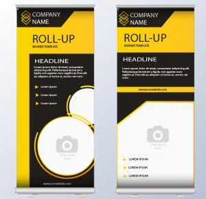 Roller Banners – Double Sided